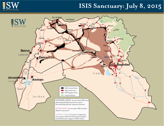 ISIS Map 7-28-15